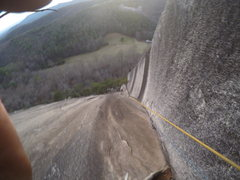 Rock Climbing Photo: The Great Arch at Stone Mountain, NC