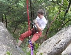 Rock Climbing Photo: grigri whoops