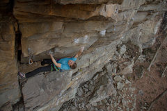 "Rock Climbing Photo: The Tomb ""Outbreak""  Photo: Tyler Casey"