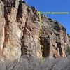 East Side of Kanab Creek Crag