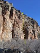 Rock Climbing Photo: Large Chimney.