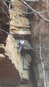 Rock Climbing Photo: Such a wild climb