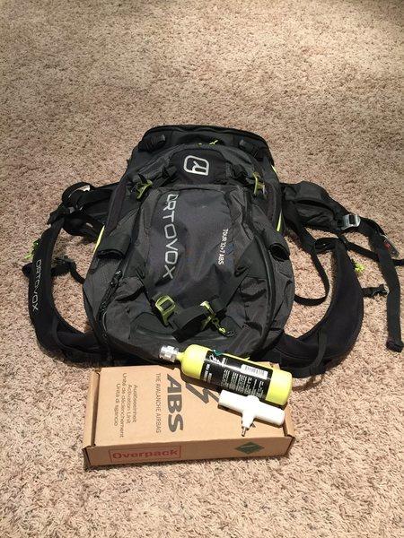 ABS ski pack