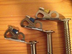 Rock Climbing Photo: screws