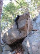 Rock Climbing Photo: The Sneaker Problem V1