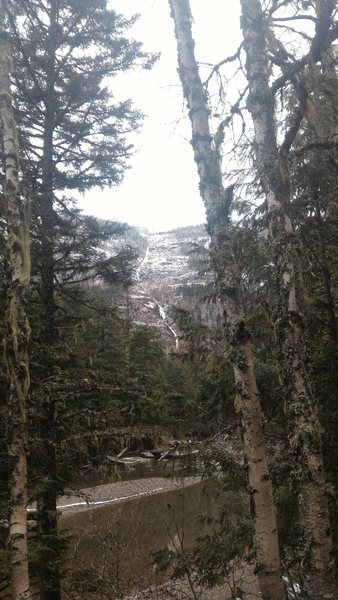 Rock Climbing Photo: Gully, north of Mcdonald Creek