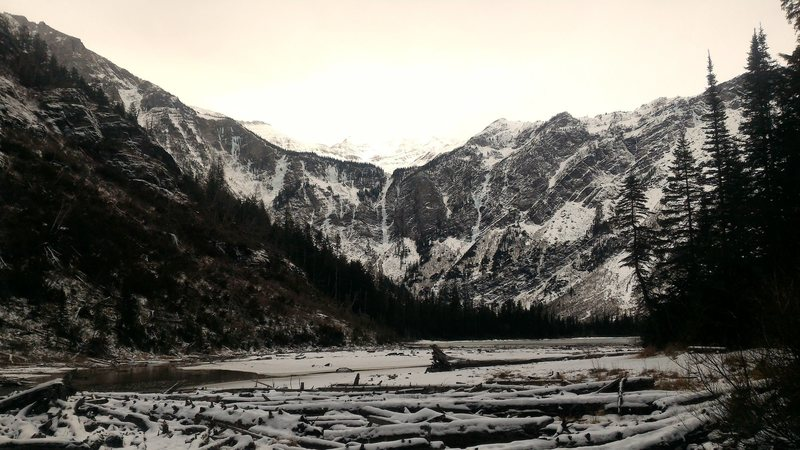 Avalanche Lake Basin