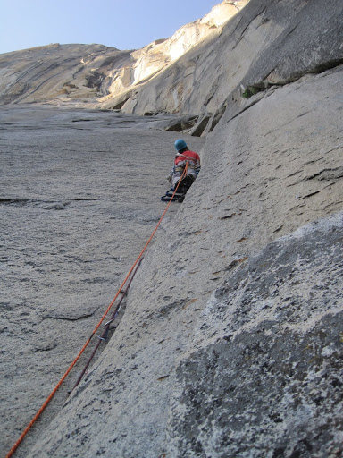 Rock Climbing Photo: low on the Dihedral Wall