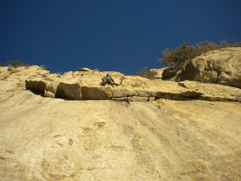 Rock Climbing Photo: The climb that Green A Gully forgot!