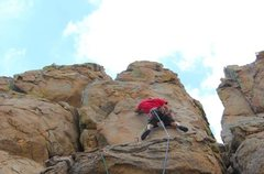 Rock Climbing Photo: starting up one armed bandit