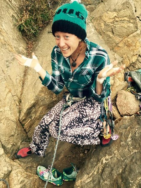 Clear Creek Canyon, Golden CO. First Trad Lead