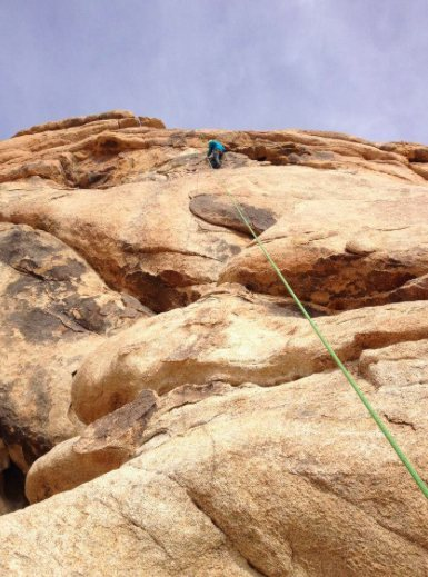 Rock Climbing Photo: little top rope session