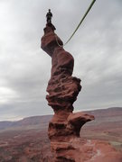 Rock Climbing Photo: Ancient Art, Fisher Towers