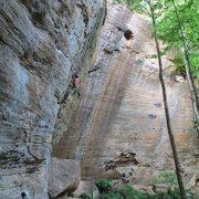 Rock Climbing Photo: loompa 5.10c