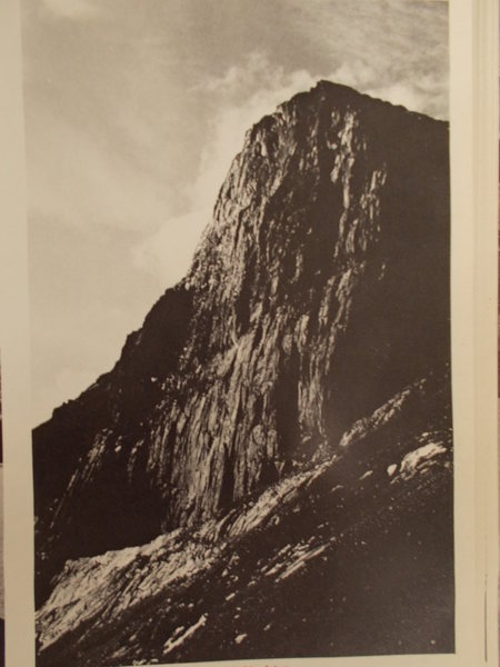 Sugar Loaf is how this old B&W was captioned in an old Canadian Alpine Journal