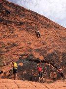 Rock Climbing Photo: Red Rock Canyon, Panty Wall, Nevada