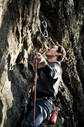 Rock Climbing Photo: Climbing at Hocking