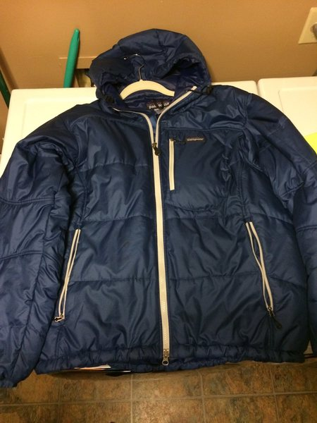 Blue medium das parka for sale