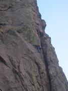 Rock Climbing Photo: commitment