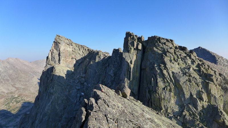 Rock Climbing Photo: Block Tower summit
