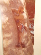 Rock Climbing Photo: Robby Baker on Sugar Magnolia, 1975. Rob was not s...