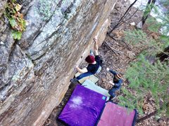 Rock Climbing Photo: Down low on FPPS