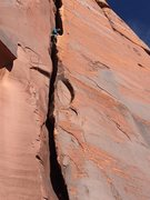 Rock Climbing Photo: Break a Leg