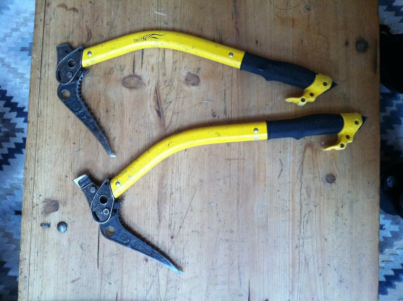 Rock Climbing Photo: pair Grivel Tech Wings, Good condition