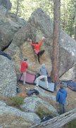 Rock Climbing Photo: Classic problem