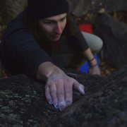 Rock Climbing Photo: Prime conditions the first week of December. (Phot...