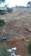 Rock Climbing Photo: Helios, 5.7+.