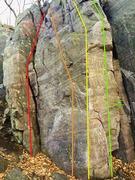 Rock Climbing Photo: Jameson Arete Area Routes