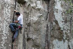Rock Climbing Photo: Start of Cabaretera.