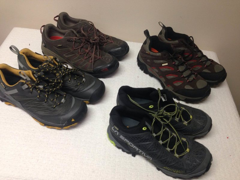 Rock Climbing Photo: Hiking Waterproof shoes