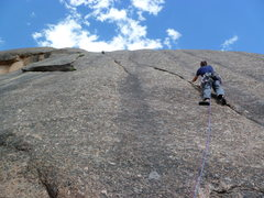 Rock Climbing Photo: Mark Roth climbing.  Photo by Mountain Project con...