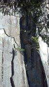 Rock Climbing Photo: Upper part of the Dark Crystal