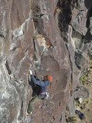 Rock Climbing Photo: Nick Vitale, Whining Babies, 5.8, (Nov 2013).