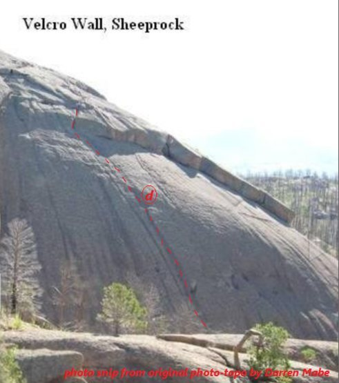 Rock Climbing Photo: Velcro Wall of Sheep Rock.  Photo by Mountain Proj...
