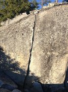 Rock Climbing Photo: Dome Rock 5.9
