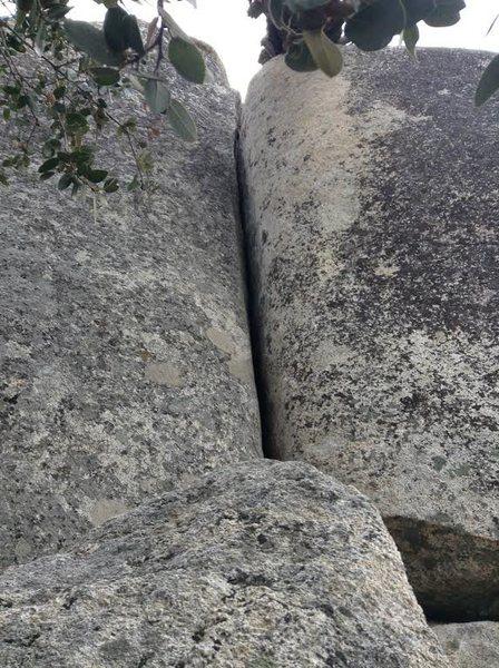 Rock Climbing Photo: Horse flats hand crack