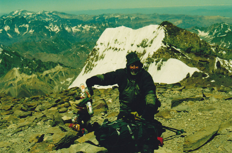 Mike on Aconcagua