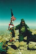 Rock Climbing Photo: Mike on Aconcagua 2