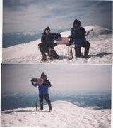 Rock Climbing Photo: Mike on Rainier