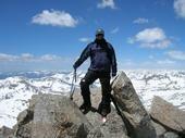 Rock Climbing Photo: Mike on Harvard