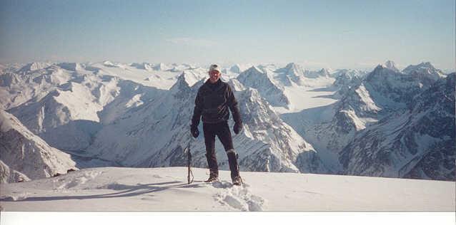 Mike on Bold Peak AK
