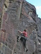 Rock Climbing Photo: Terran Engle,I-Chi-Hua-Hua, 12b (April 2014)