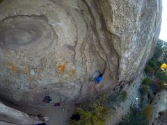 Rock Climbing Photo: After about 25 years the new bolts being installed...