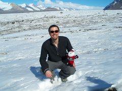 Rock Climbing Photo: On a glacier in Antarctica