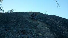 Rock Climbing Photo: Matt on Samland