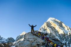 Rock Climbing Photo: Summit of Kala Pattar